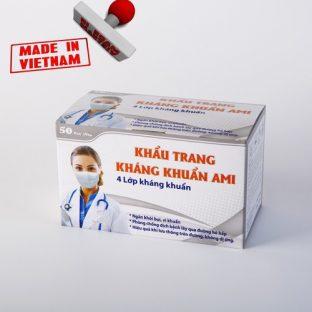 Khẩu Trang Y Tế (4 lớp, kháng khuẩn)